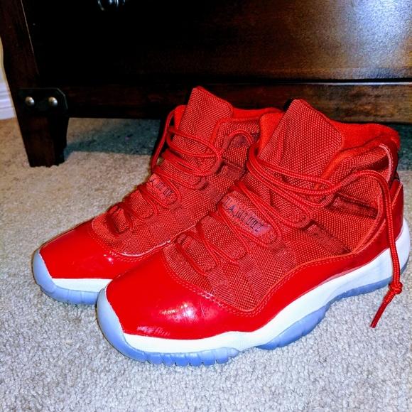 Y Jordan Red Gym Retro 11s | Poshmark